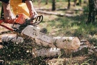 A láncfűrészek használata